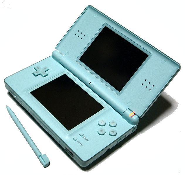Battered Nintendo DSLite