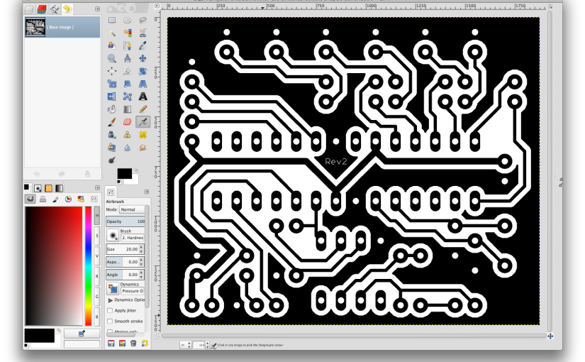 Scaling PDF for PCB