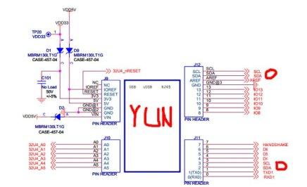 BNO055 Chinese clone schematic