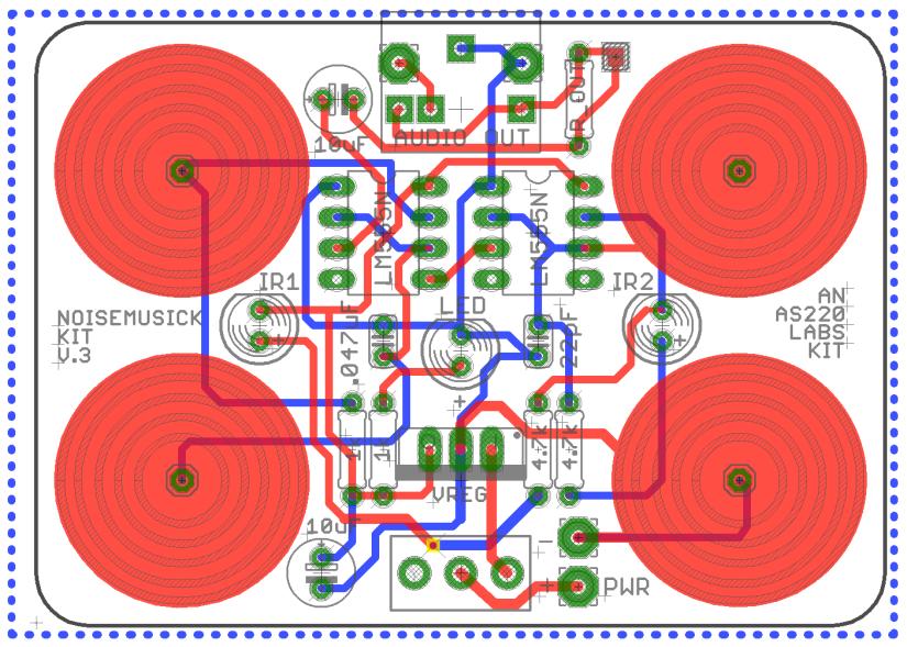 Making a 555 NoiseMusickPCB