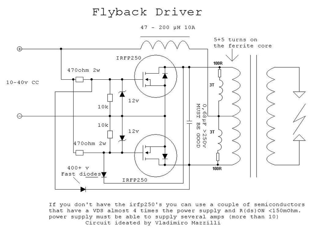 Based Design Called The Vladimro Mazzilli Inverter This ... on power schematic, nautilus schematic, audio schematic, capacitor schematic,