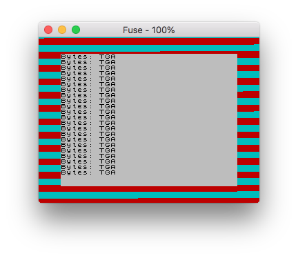 Loading loop issues with Fuse forOSX