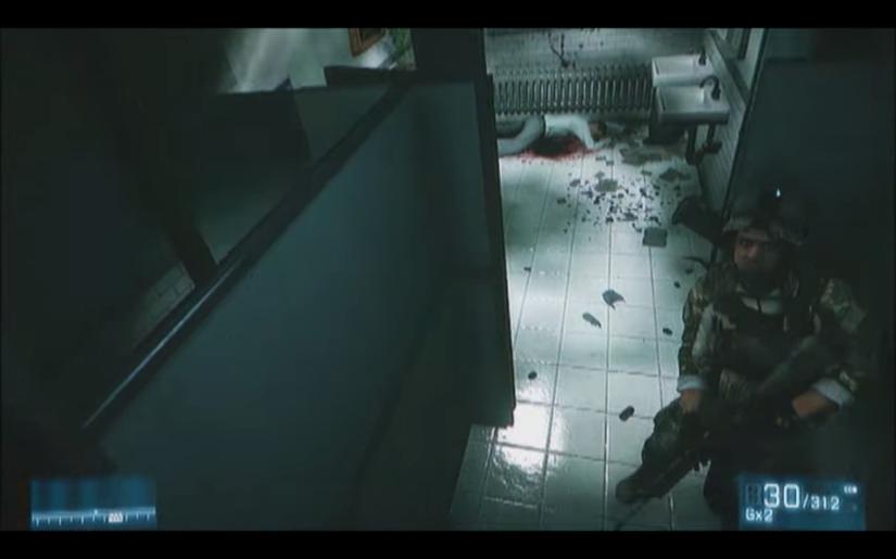 Battlefield 3 – Toiletscene