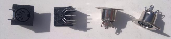 5 pin DIN sockets - MIDI