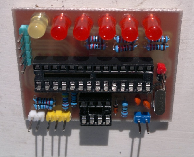 LEDs - flat side closeup