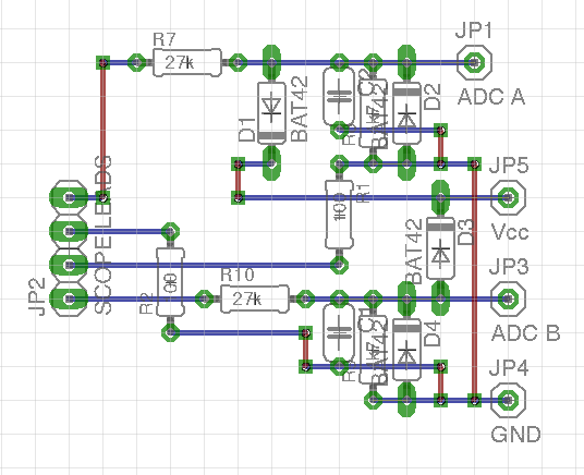 Miniscope v2d front stage board layout