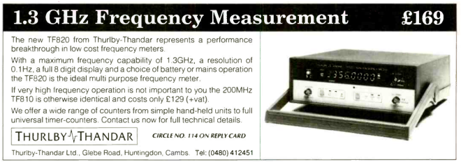 Thandar Frequency Meter advert 1991.png