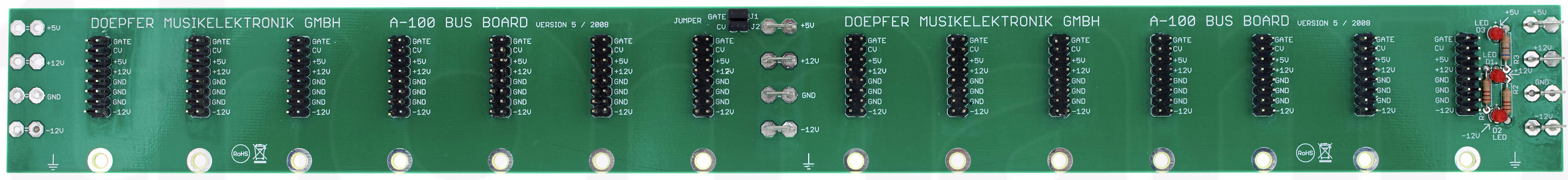 Frequency Central Microbus power PCB Doepfer DIY