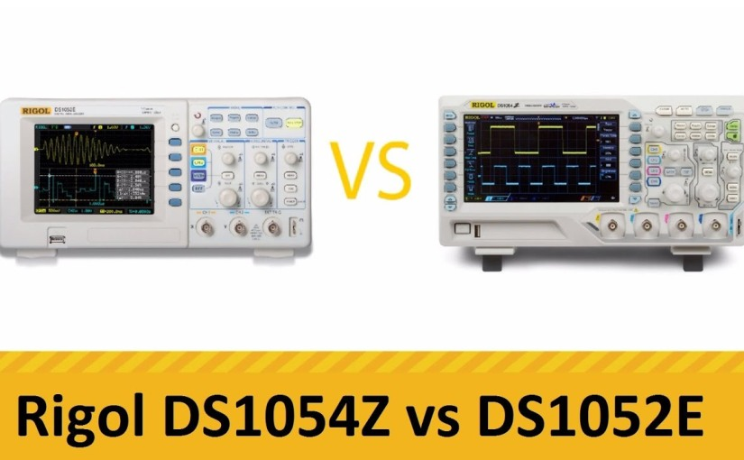 Rigol DS1052e and DS1054z