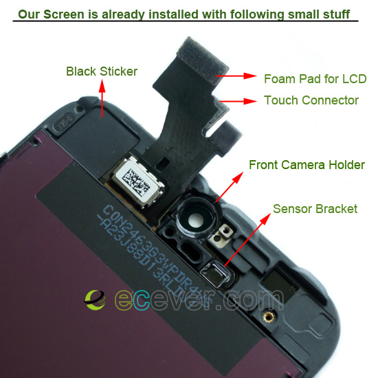 oem-iphone-5-lcd-screen-touch-digitizer-with-front-camera-holder-sensor-bracket