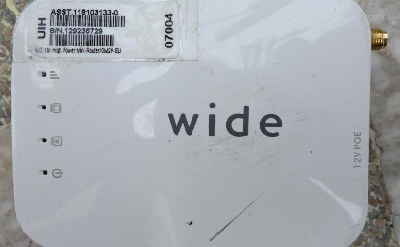 Wide OM2P