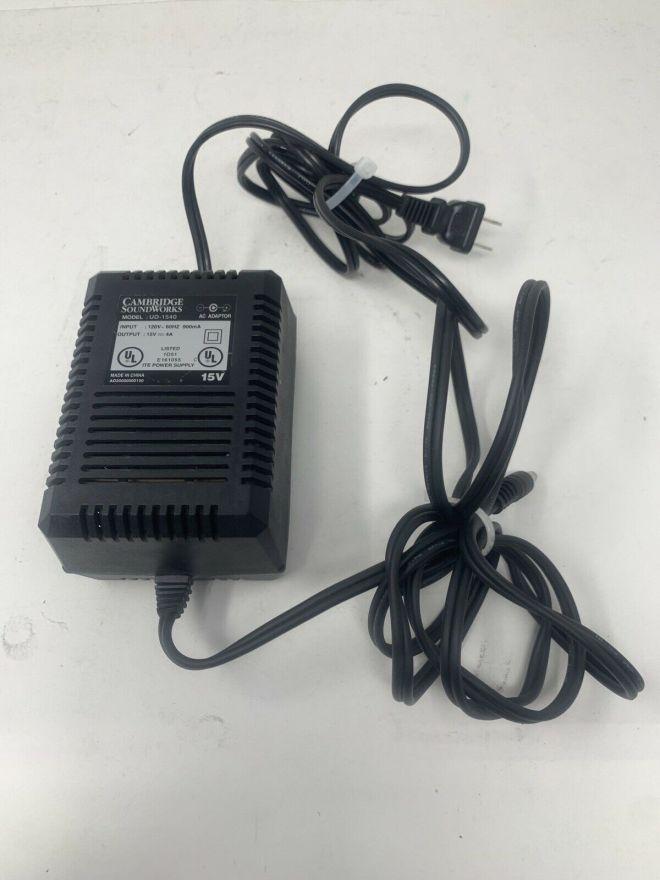 Cambridge Soundworks Creative UD1540 Power Supply - 15 Volt 4 Amp