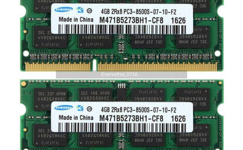Memory for MacBook – CL andspeed