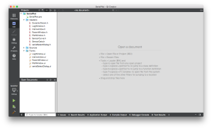 Qt4.5 Creator - Project window - Success