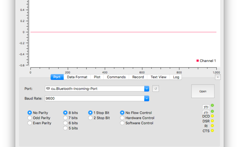 HOWTO: Port serialplot to OSX
